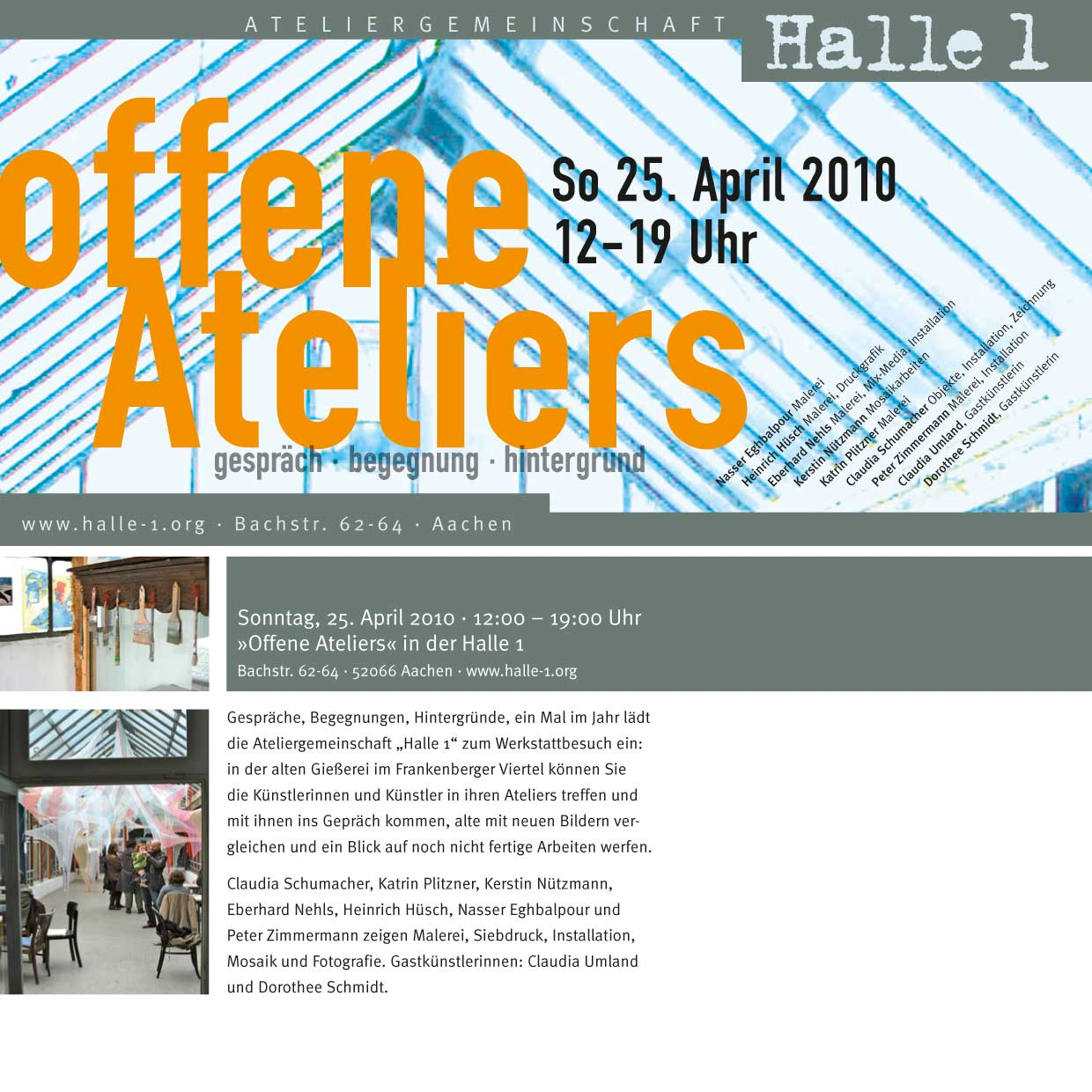 halle 1 offene ateliers 2010